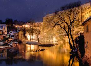 Krumau Winter